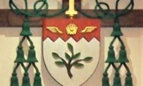 El Escudo Episcopal del Obispo Alfonso Gallegos, OAR.