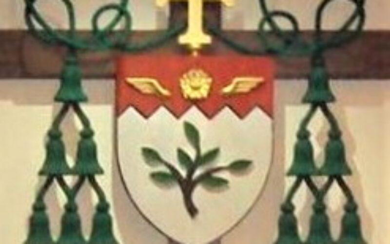 Bishop Alphonse Gallegos' Coat of Arms