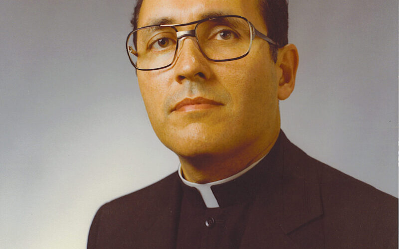 Conversion attributed to the intercession of Bishop Gallegos